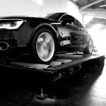 Audi A7 3.0TDI on Dynomax 4000BR 4x4 chassis dynamometer